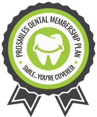 ProSmiles Dental Membership plan badge